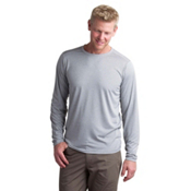 ExOfficio BugsAway Tarka Long Sleeve Mens Shirt, Cement, medium