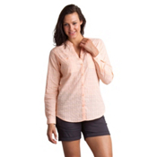 ExOfficio Fresco Long Sleeve Womens Shirt, Sunrise, medium