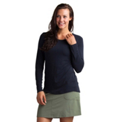 ExOfficio Sol Cool Bateau Long Sleeve Womens Shirt, Black, medium