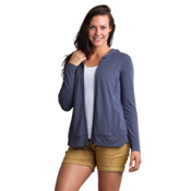 ExOfficio Sol Cool Crossback Womens Hoodie, Carbon, medium