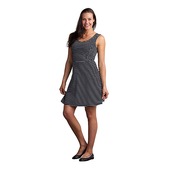 ExOfficio Odessa Tank Dress, Black-White, 600