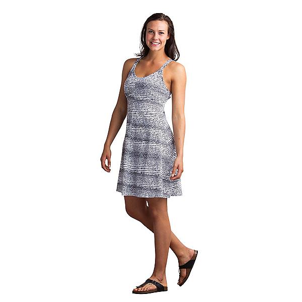 ExOfficio Wanderlux Print Tank Dress, Black-White, 600