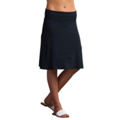 ExOfficio Wanderlux Convertible Skirt, Black, medium