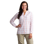 ExOfficio BugsAway Sevilla Long Sleeve Womens Shirt, Tamarind, medium