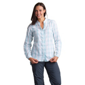 ExOfficio BugsAway Sevilla Long Sleeve Womens Shirt, Dragonfly, medium