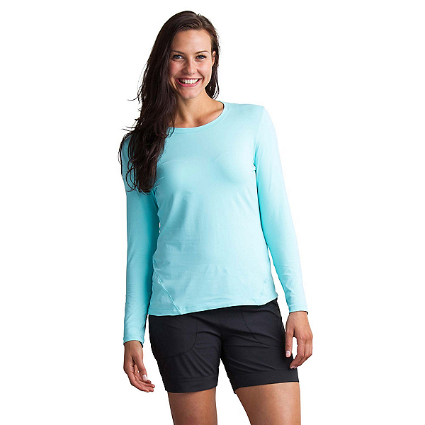 ExOfficio Lumen Long Sleeve Womens Shirt, Aruba, 600