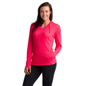 ExOfficio BugsAway Lumen Womens Hoodie, Teaberry, medium