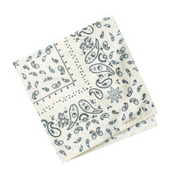 ExOfficio BugsAway Woven Bandanna, Bone, medium
