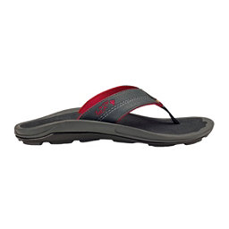 OluKai Kipi Mens Flip Flops, Dark Shadow-Dark Shadow, 256