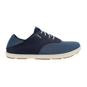 OluKai Nohea Moku Mens Shoes, Trench Blue-Trench Blue, medium