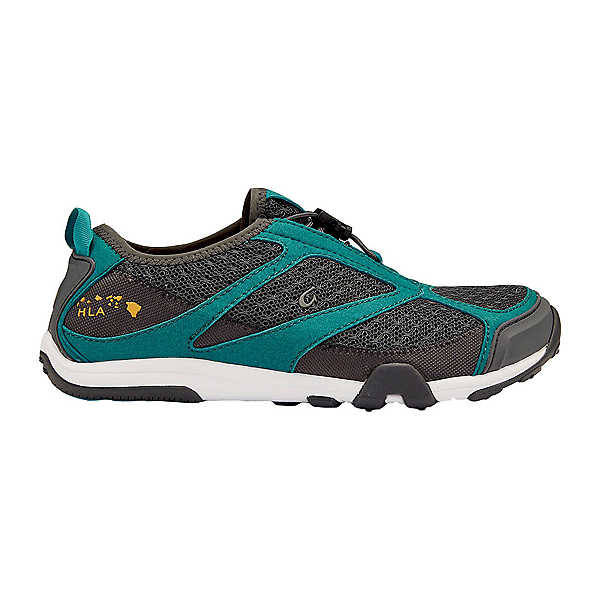 OluKai 'Eleu Trainer Womens Watershoes, Dark Shadow-Teal, 600