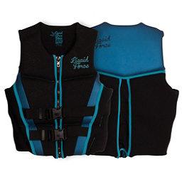 Liquid Force Diva CGA Womens Life Vest 2017, Black-Blue, 256
