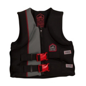 Liquid Force Junior Hinge CGA Junior Life Vest 2017, Black-Red, medium