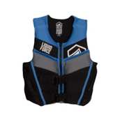 Liquid Force Fury Junior Life Vest 2017, Black-Blue, medium