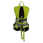 Liquid Force Fury Infant Life Vest 2017, Black-Green, medium