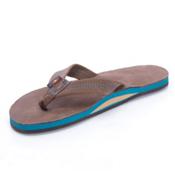 Rainbow Sandals Premier Blues Mens Flip Flops, Expresso, medium