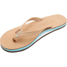 Rainbow Sandals The Tropics Womens Flip Flops, Sierra-Ocean Blue, 256