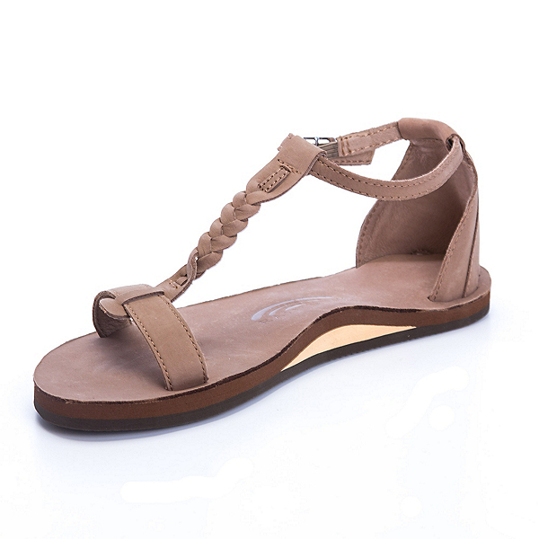 Rainbow Sandals Calafia Womens Sandals, Dark Brown, 600