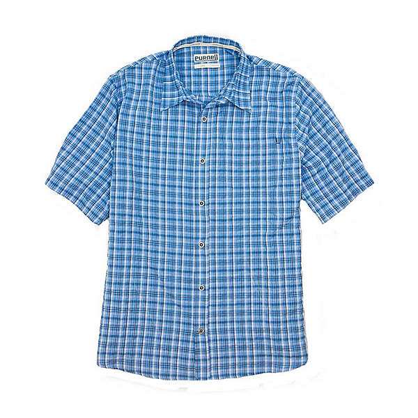 Purnell Quick Dry Plaid Mens Shirt, , 600