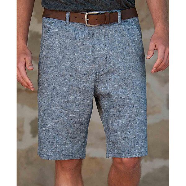 Purnell Indigo Crosshatch Mens Shorts, , 600