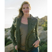 Purnell Linen Field Womens Jacket, , medium