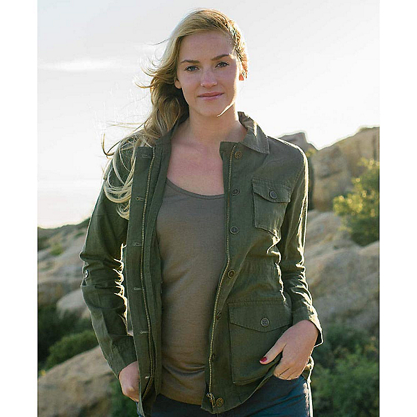 Purnell Linen Field Womens Jacket, , 600