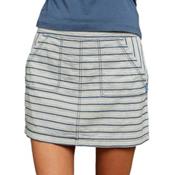Purnell Striped Denim Skirt, , medium