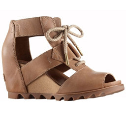 Sorel Joanie Lace Womens Sandals, Sahara-Fawn, 256