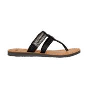 UGG Audra Womens Flip Flops, Black-Bronze, medium