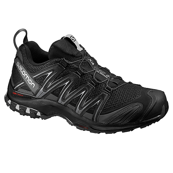 Salomon XA Pro 3D Mens Shoes, Black-Magnet-Quiet Shade, 600