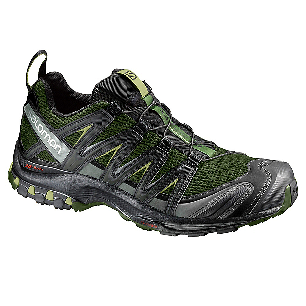 Salomon XA Pro 3D Mens Shoes, Chive-Black-Beluga, 600