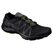 Salomon Crossamphibian Swift Mens Watershoes, Black-Phantom-Sulphur Spring, medium