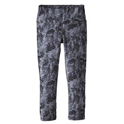 Patagonia Centered Crops Womens Pants, Tidal Flats Black, 256