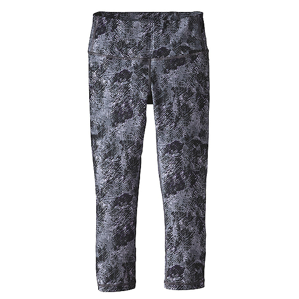 Patagonia Centered Crops Womens Pants, Tidal Flats Black, 600