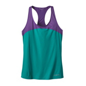 Patagonia Windchaser Sleeveless Womens Tank Top, True Teal, medium
