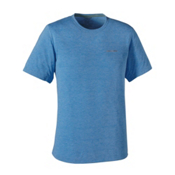 Patagonia Nine Trails Mens T-Shirt, Andes Blue-Andes Blue, medium