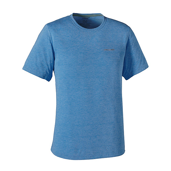 Patagonia Nine Trails Mens T-Shirt, Andes Blue-Andes Blue, 600