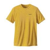Patagonia Nine Trails Mens T-Shirt, Chromatic Yellow, medium