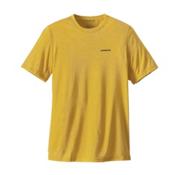 Patagonia Nine Trails Mens T-Shirt, Chromatic Yellow, medium