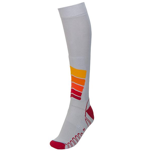 Euro Sock Ski Silver Compression Plus Ski Socks, Silver, 600