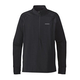 Patagonia All Weather Zip Neck Mens Shirt, Black, 256