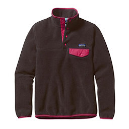 Patagonia Lightweight Synchilla Snap-T Pullover Womens Fleece, Ink Black, 256