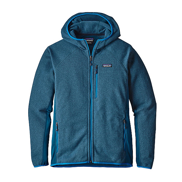 Patagonia Performance Better Sweater Mens Hoodie, Big Sur Blue, 600