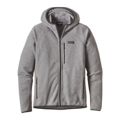 Patagonia Performance Better Sweater Mens Hoodie, Feather Grey, medium