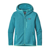 Patagonia Performance Better Sweater Womens Hoodie, True Teal, medium