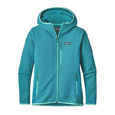 Patagonia Performance Better Sweater Womens Hoodie, True Teal, viewer