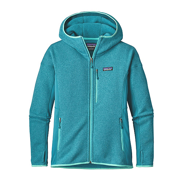 Patagonia Performance Better Sweater Womens Hoodie, True Teal, 600
