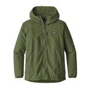 Patagonia Tezzeron Mens Jacket, Buffalo Green, medium