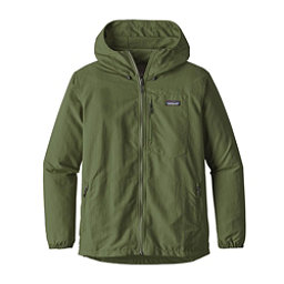 Patagonia Tezzeron Mens Jacket, Buffalo Green, 256
