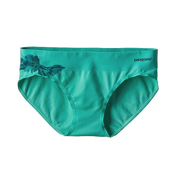Patagonia Active Hipster Womens Underwear, Dropdot Galah Green, 600